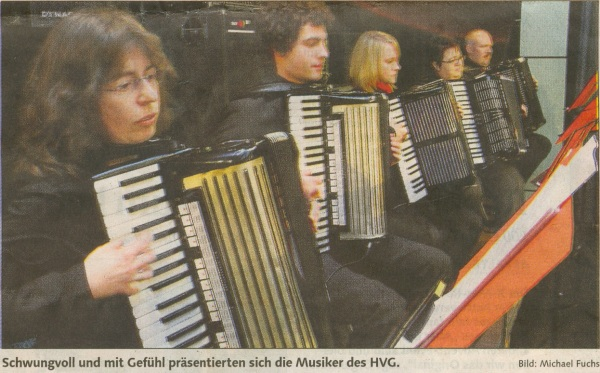 Rhytmusgruppe des 1. Orchesters